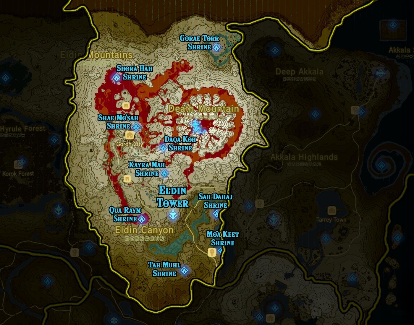 Eldin Tower region