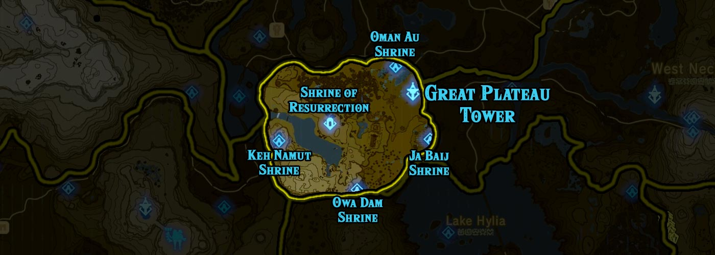 Great Plateau Tower region