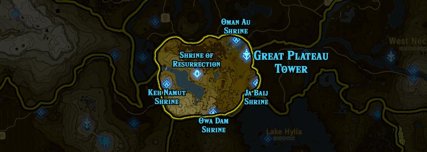 Great Plateau Tower region
