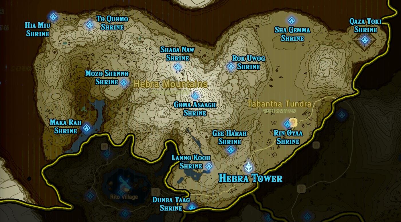 hebra region