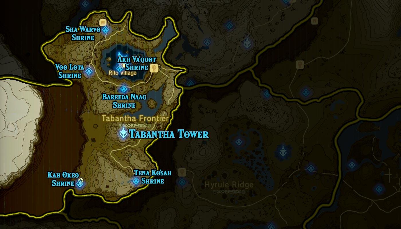 tabantha region